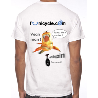 Tee-shirt of Unicycle Funicycle 2012 - So you like it or what ?