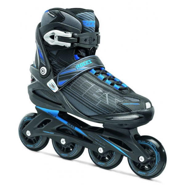 Roller skates Adult Inline STRIPES Roces Man - Black Grey Blue Man - from 41 to 46