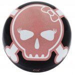 Pink Skull Ventilcap for Unicycle Innertube Caps Mountain Bike Bicycle BMX Unicycle Cars