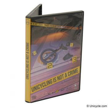 DVD of Unicycle - Unicycling is not a crime
