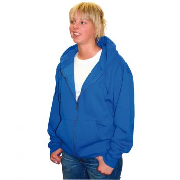 Sweat shirt Hoody Blue Qu-ax Unicycle for Unicyclist