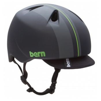 Kids Helmet of Unicycle for Child 6 / 8 years - Bern Black