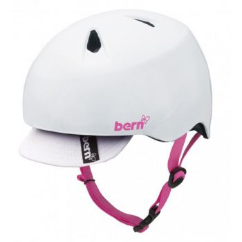 Kids Helmet of Unicycle for Child 6 / 8 years -Bern White