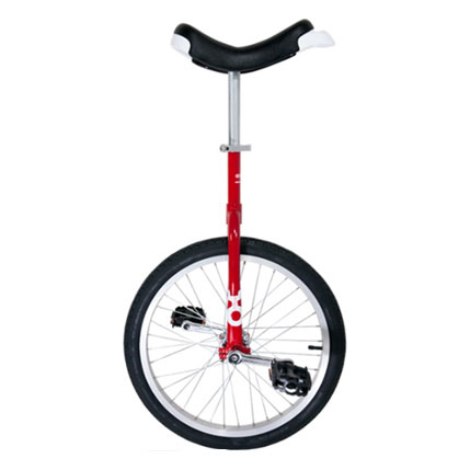 Unicycle Only One Red 20 Inch/406mm