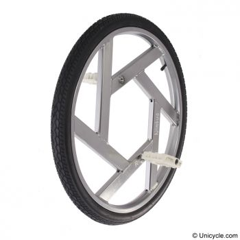 Rental Ultimate Wheel Nimbus Aluminum Silver 24 Inch/507mm