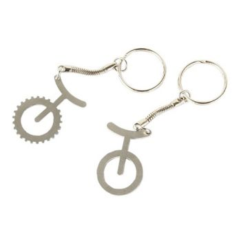 Unicycle Key Ring