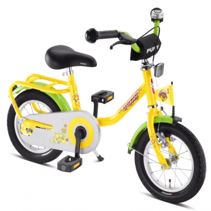 Bike Bicycle Z 2 Puky Yellow for Kids Childs - from 2 years - 90 cm