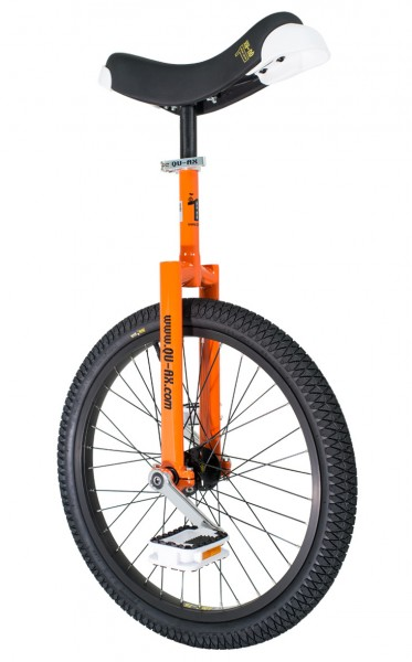 Freestyle Unicycle Qu-ax Orange Luxus Club Beginner Child/Adult 20 Inch/406mm ...