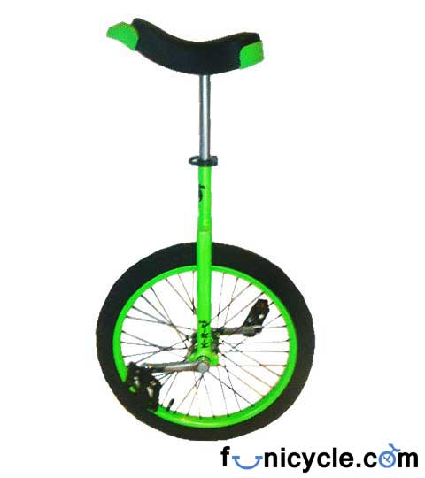 Unicycle Green Dodo Freestyle 10 years old 20 Inch/406mm  Crush