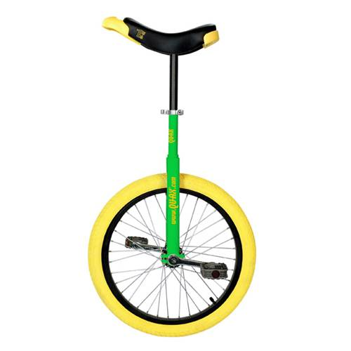 Qu-ax Luxus Freestyle Green Unicycle 20 Inch/406mm
