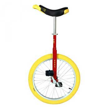 Qu-ax Luxus Freestyle Red Unicycle 20 Inch/406mm