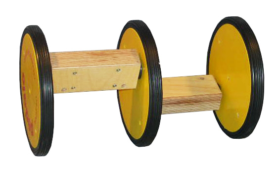 Acrobatic Pedalo 3 wheels in wood for Childs - Kids and Adults 12 Inch/203mm