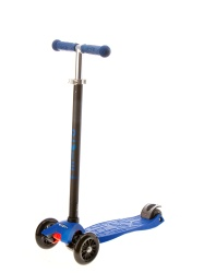 Kick Scooter Micro Maxi Blue for Children - 4 to 10 years old Childs-Kids aged 4 to 10 years old