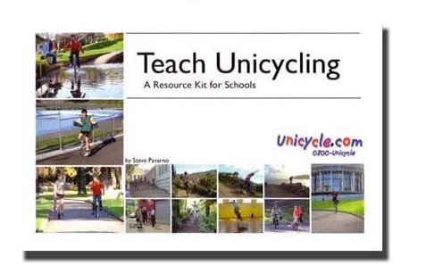 Teaching Unicycling - How to ride on a Unicycle