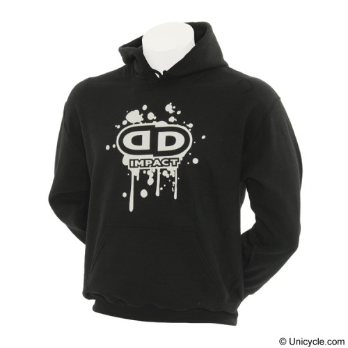 Sweat shirt Hoody - Black Impact Unicycle
