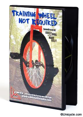 Training Wheel Not Required Unicycle DVD