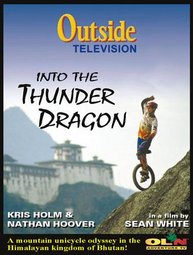 Into The Thunder Dragon Unicycle DVD - featuring Kris Holm