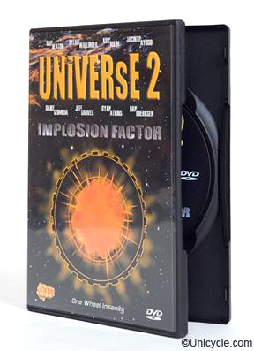 UNiVERsE 2 - Unicycle DVD