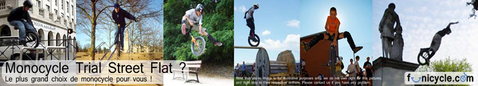 Unicycle-Monocycle-Monocilo-Einrad-Monocicli-Trial-Flat-Street
